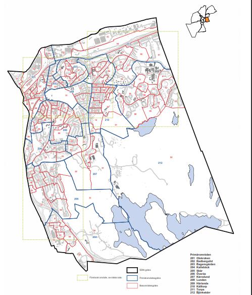 Här bor 13 039 örgrytebor enligt kommunen.